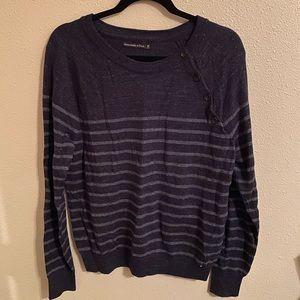 A&F striped sweater